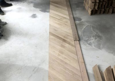 0144 Pose parquet bordeaux